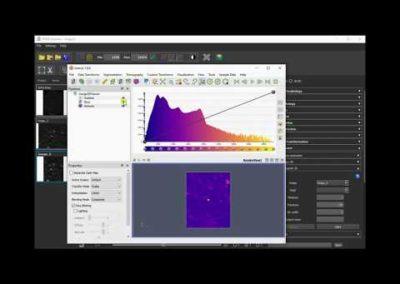 Importation d'un fichier Raw, 3D Crop et Viewer 3D